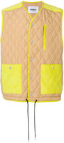 MSGM quilted gilet - men - Polyester - 48