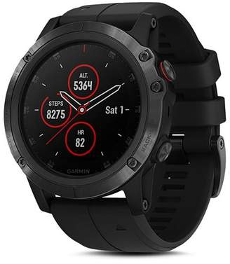 Garmin fenix 5X Plus Sapphire Premium Multisport GPS Smartwatch, 51mm