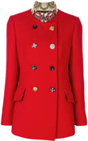 Dolce & Gabbana decorative buttoned peacoat