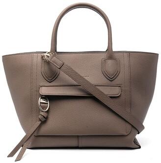 Longchamp Mailbox leather tote bag
