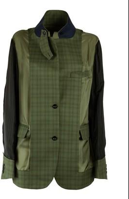 Sacai Glencheck Suiting Jacket
