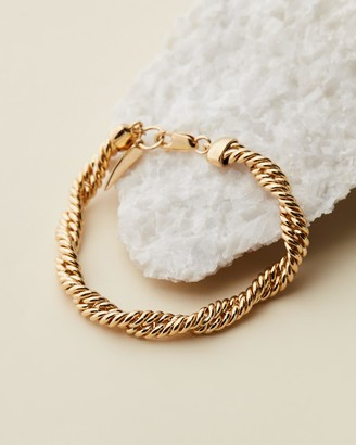 Missoma Marina Gold Double Chain Bracelet