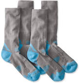 L.L. Bean All-Sport PrimaLoft Socks, Lightweight Crew Two-Pack