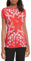 Ted Baker Women's Pepa Kyoto Gardens Fitted Tee