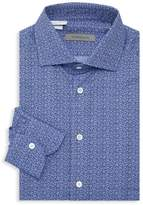 Corneliani Botanical Print Dress Shirt