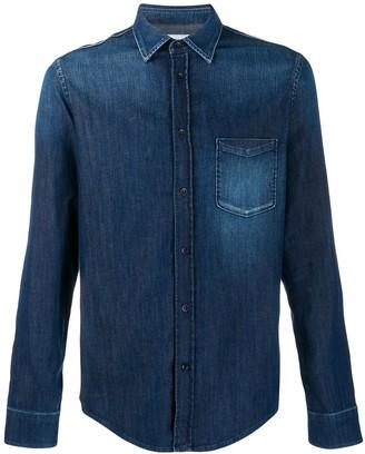 Dondup plain denim shirt