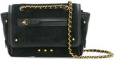 Jerome Dreyfuss Benji crossbody bag - women - Leather/Suede/Brass - One Size
