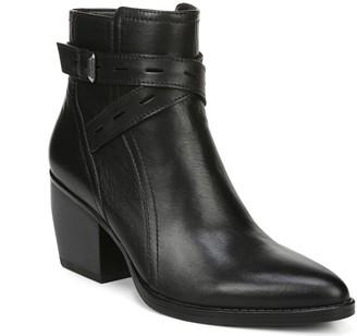 Naturalizer Block Heel Leather Booties - Fenya