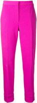 Narciso Rodriguez cropped trousers - women - Elastodiene/Virgin Wool - 38