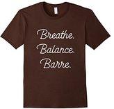 Men's Breathe Balance Barre Ballet Dancer T-Shirt Large