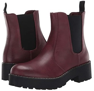 Chinese Laundry Margo (Burgundy Smooth) Women's Pull-on Boots