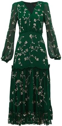 Saloni Silk Devon Dress