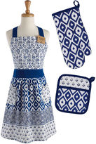 DESIGN IMPORTS Design Imports Blue Market 3-pc. Chef Set