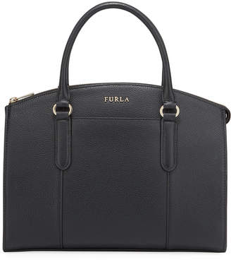 Furla Lea Small Leather Satchel Bag