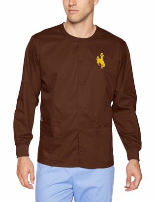 WONDERWINK Unisex-Adult's University of Wyoming Snap Front Jacket