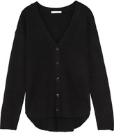 Alexander Wang Ribbed-knit wool and cashmere-blend cardigan