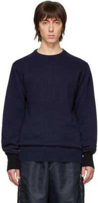 Random Identities Navy Knit Sweater