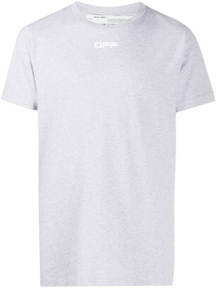 Off-White Airport Tape print T-shirt