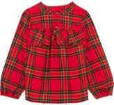 J.Crew Gelder Ruffled Tartan Cotton-flannel Shirt - Red