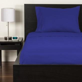 Crayola Blue Berry Blue Queen size Microfiber sheet set