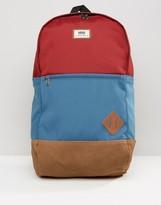 Vans Van Doren Iii Backpack In Red Va2wnuk1j