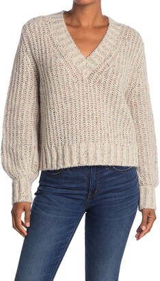 360 Cashmere Nimm Chunky V-Neck Pullover