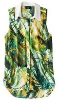 Mb Mossimo® Women's Sleeveless Shirt Blouse - Assorted Prints