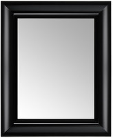 Kartell Francois Ghost Mirror - Black - Small
