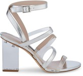 Nine West Mod Transparent Heel Sandals