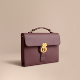 Burberry The Trench Leather Document Case