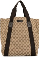 Gucci Pre Owned large GG pattern tote