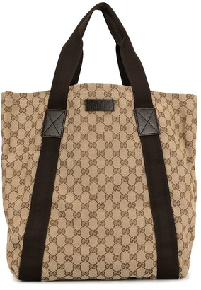 Gucci Pre-Owned large GG pattern tote