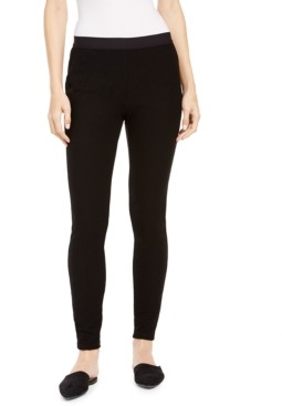 Eileen Fisher Pull-On Textured Skinny Leggings, Regular & Petite