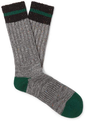 Melange Home Anonymous Ism Ribbed-Knit Socks