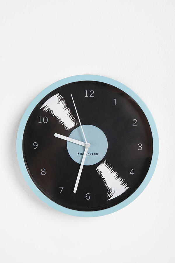 Urban Outfitters Record Album Wall Clock