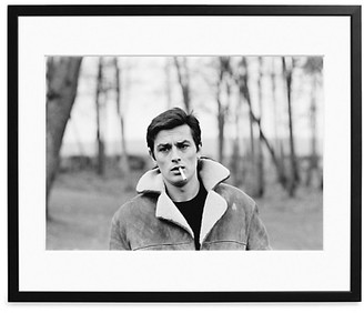 Sonic Editions Large Alain Delon In The Woods In France Art Print