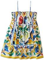 Dolce & Gabbana Escape Sleeveless Dress (Toddler/Little Kids)