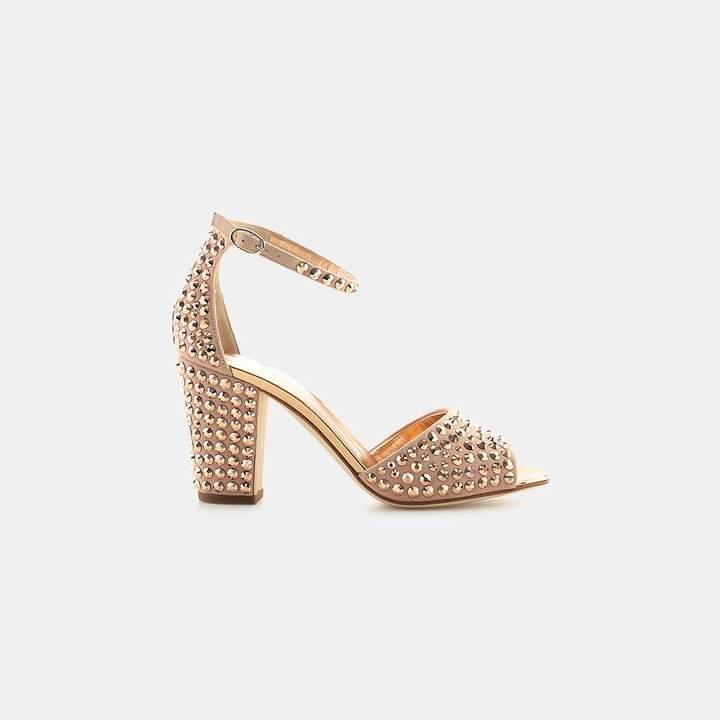 Giuseppe Zanotti Lavinia Studded Ankle-Strap Sandal