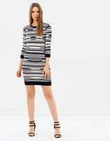 Karen Millen Pointelle Knit Dress