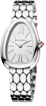Bvlgari Serpenti Seduttori Stainless Steel Bracelet Watch