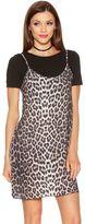 Quiz Leopard Print Cami Top Dress