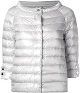 Herno collarless down jacket - women - Polyamide/Goose Down - 42