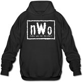 SHMUY NWO New World Men's Funny Hooded Coat