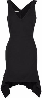 Antonio Berardi Asymmetric Stretch-cotton Mini Dress