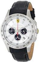 Ferrari Men's 0830038 Analog Display Japanese Quartz Black Watch