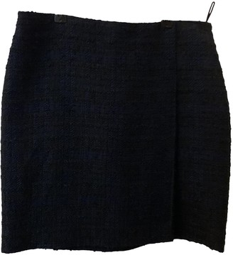 Givenchy Blue Tweed Skirts