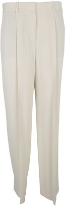 Theory Pleated Detail Trailored Trousers