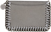 Stella McCartney Grey Falabella Card Holder