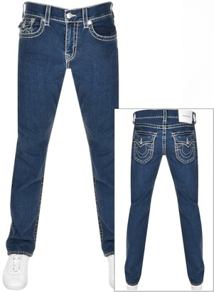 True Religion Rocco No Flap Jeans Blue