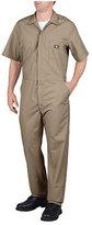 Dickies Men's Short Sleeve Coverall Short